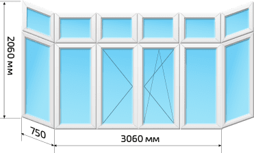 Балкон Хрущевка 2